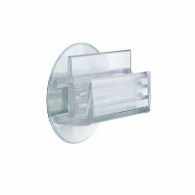 Clear Plastic Suction Cup Sign Holder With Plastic Grip Strips 12/Bg, 44684