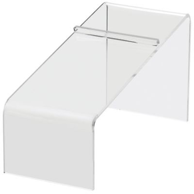 "Clear Acrylic Shoe Stand Slanted 5"" (H), 66835"
