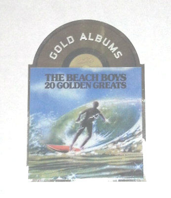 2013 Panini Beach Boys Trading Cards Gold Albums #22 - 20 Golden Greats