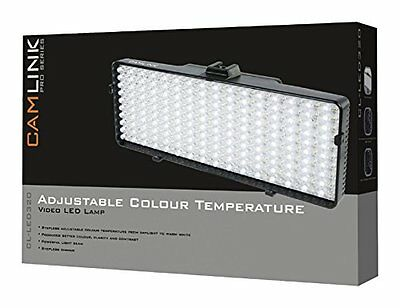 Camlink CL-LED320 Lampada Video con 320 LED, Nero (J5h)