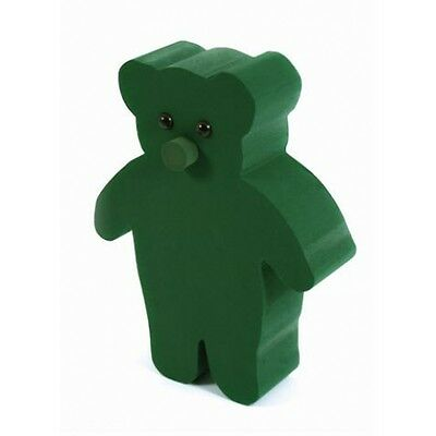 Oasis Foam 3D Standing Teddy Bear Funeral Memorial Tribute Floral Sku 2462