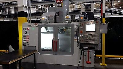 Used Haas VF-2SS CNC Vertical Machining Center 30x20 Mill 4th ready 12k rpm 2004