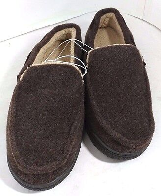Dearfoams Mens Memory Foam Slippers, New Without Box, Free Ship