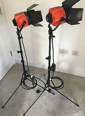 "Quartzcolor ""Redheads""  Spot/Flood Lights for Studio or Film by Pulsar"