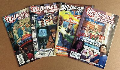 DC UNIVERSE: DECISIONS COMPLETE MINISERIES (2008) Willingham, Winick FREE SHIP