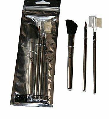 STY, Set di pennelli lunghi per make-up, 3 pz. (e5R)