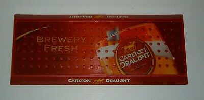 Original Cralton Draught Beer Drinks Tray for home bar or collector Rare