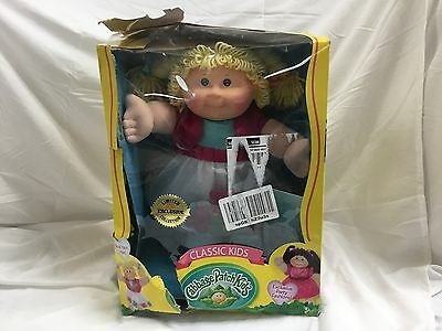 NEW Limited Edition Cabbage Patch Kids Classic Kids 16-Inch Doll 2015 FREE SHIP