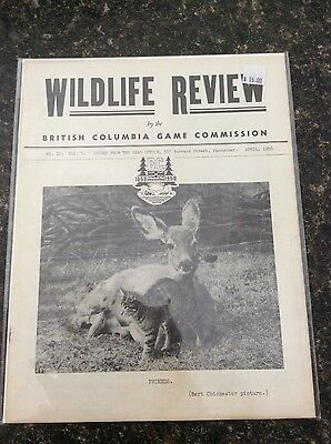 Wildlife Review April 1958