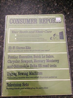 Consumer Reports March 1969