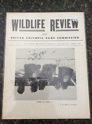 Wildlife Review August 1957