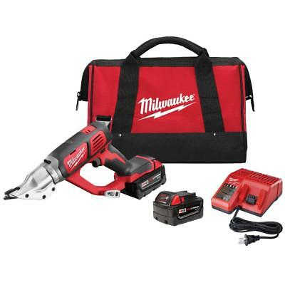 Milwaukee 2635-22 M18 18V Cordless 18 Gauge Double Cut Shear Kit