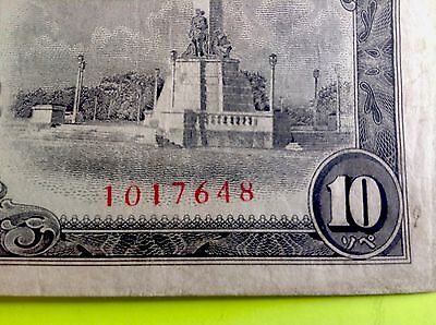 PHILIPPINES Money Bank Note Japanese Japan Occupation REPLACEMENT 10 PESOS