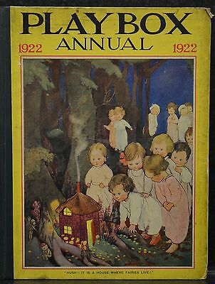 The Playbox Annual 1922: A Picture And Story Book For Children (Fourteenth Year)