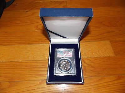1996 $50 Platinum Canadian Maple Leaf PCGS WTC World Trade Center 911 recovery