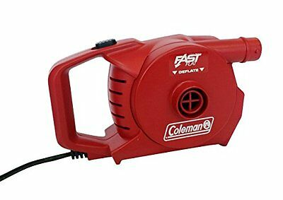 Coleman, Pompa ad aria elettrica 2000019882, Rosso (Rot), Standard (S6A)