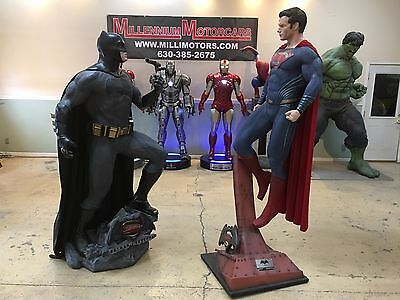 Life Size DC Comics Batman vs Superman Full Size Statues