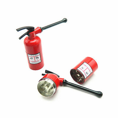 New Style Portable Smoke Tobacco Shape Fire Extinguisher Grinder with 3 Layers