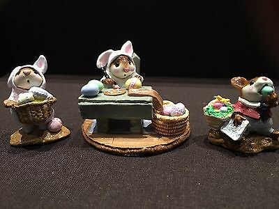 Wee Forest Folks Easter Collection M-82, B-12 & M-160 (set of 3)