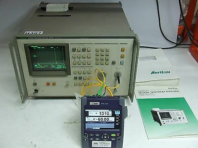 Anritsu MS96A Optical Spectrum Analyser 0.6 - 1.6 µm w/ manuals *Tested*