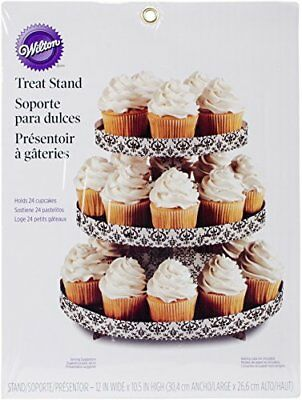 Treat Stand-Damask Supporto A Piani Per Dolci, 30Cm X 27Cm Holds 24 (c6L)