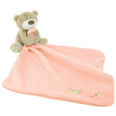 Lovely Bear Blankie Development Soft Baby Kid Toy Newborn Gift New HOT