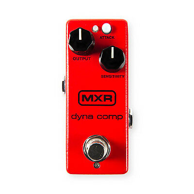 MXR M291 Dyna Comp Mini Compressor Effect pedal with Power Supply - BRAND NEW
