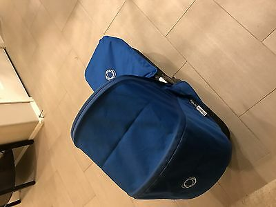 Bugaboo Donkey Duo , (Blue Canopy And Bassinet Cover) 2 Of Each.