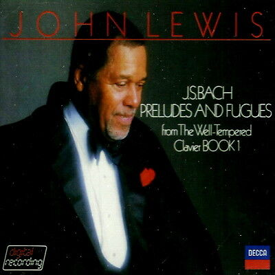 John Lewis - Bach: Preludes And Fugues From The Well-Tempered Clavier Book 1 NEW