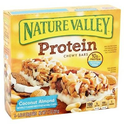 Nature Valley Protein Chewy Bars Coconut Almond