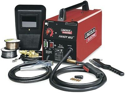 New Lincoln Electric 120-Volt MIG Flux-Cored Wire Feed Welder Free Shipping
