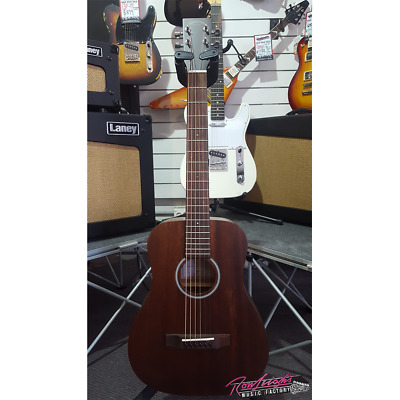 Sigma TM-15E Travel Acoustic Electric Guitar with Solid Mahogany Top and Gig Bag