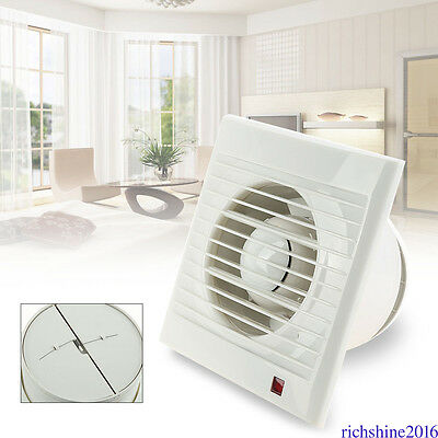 Intervent White Extractor Fan Air Vent Electric For Kitchens & Bathrooms MD56
