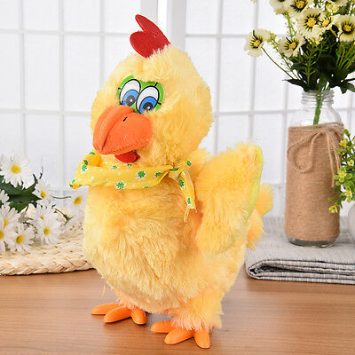 Child Laying Eggs Chicken Plush Toys Electric Hen Musical Dancing Children Gifts