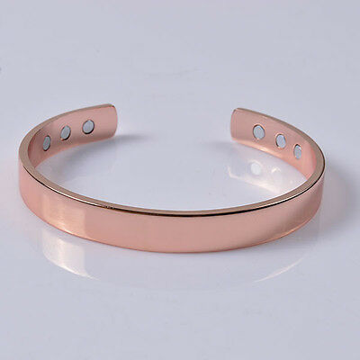 Copper Bracelet Magnetic Healing Bio Therapy Pain Relief  Bangle Arthritis