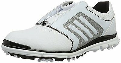 adidas Adistar Tour B, Scarpe da Golf Donna, Bianco (White / Core Black / (U7b)