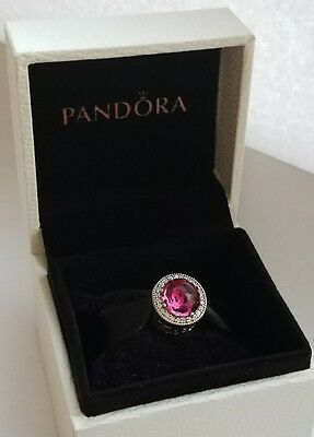 Pandora Disney Beauty And The Beast Belle Radiant Rose Charm 792140ncc With Box 31 99 Picclick