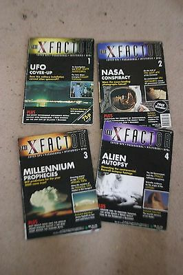 4 x  factor magazines issues 1 , 2 , 3 and 4