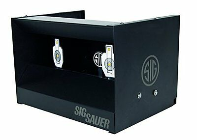 Sig Sauer Dual Shooting Gallery parapalle a cassetta, Nero, na (d9s)