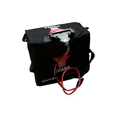 Yuasa 36Ah / 33Ah Golf Battery with T-Bar Fitment, Powerkaddy Lead & Battery Bag