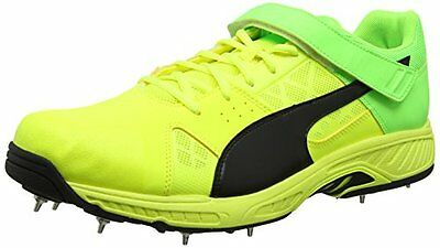 Puma Evospeed B, Scarpe da Cricket Uomo, Giallo (Safety Yellow-Puma (C6m)