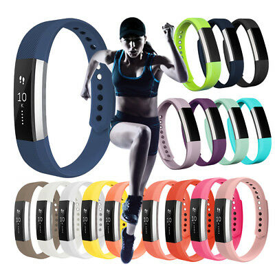 Silicon Armband Sport Band For Fitbit Alta HR Tracker Replacement Wrist Strap