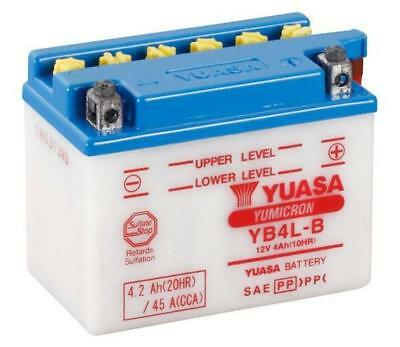 Yuasa YB4L-B YB4LB Motorcycle Battery Gilera All 50CC Models
