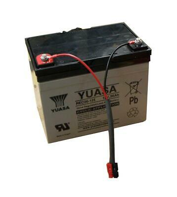 Yuasa 36Ah Golf Trolley Battery & Lead
