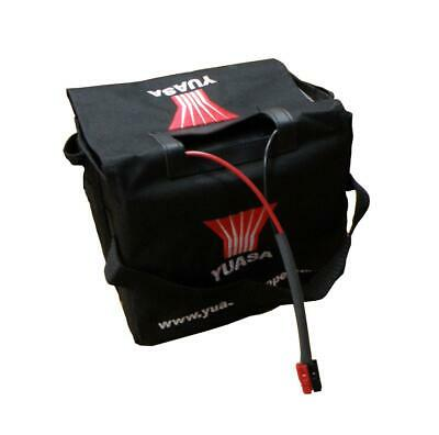 Yuasa 36Ah Golf Battery, Torberry Connector & Battery Bag Set, Replaces 33Ah