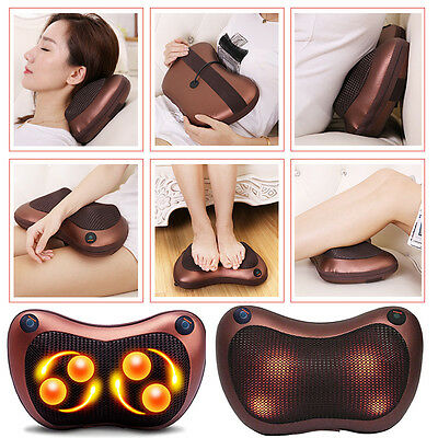 Heating Double Body Device Neck Massage Pillow Multifunctional Massager Device