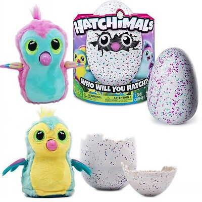 Kids Toys Hatchimals Pengualas Teal Hatching Egg Interactive Pet Easter Gift New
