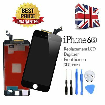 """New Black Replacement LCD Display Touch Screen Digitize for iPhone 6S 4.7""""+Tools"""