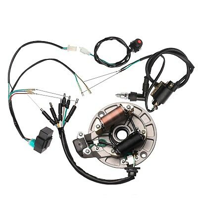 Complete Wiring Loom Harness 50/70/90/110/125cc 4 Stroke Engine Thumpstar Atomik