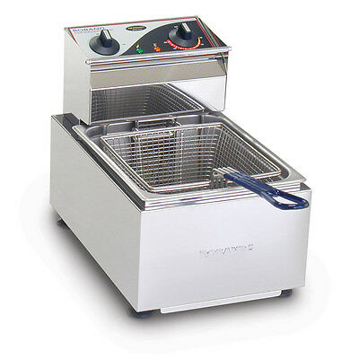 Roband Australia Single Pan Electric Fryer Commercial (5 Or 8 Litre Tank)